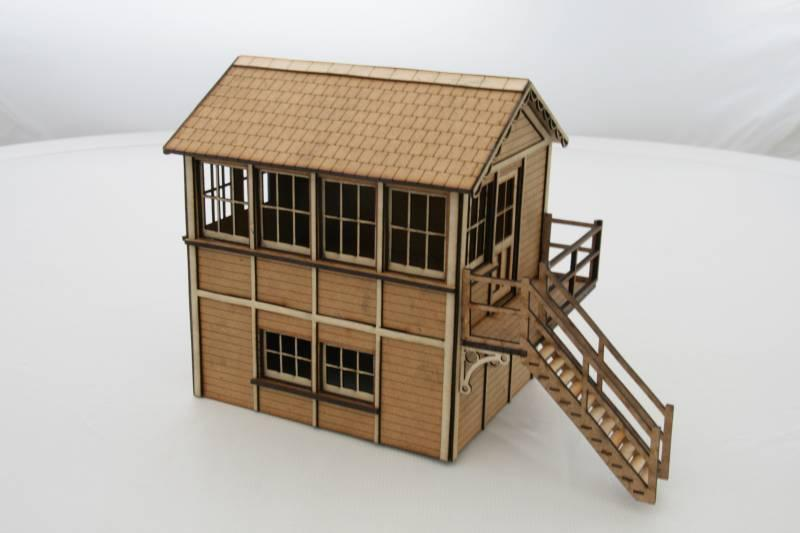 Fine Scale O Gauge Signal Box (Right Hand)