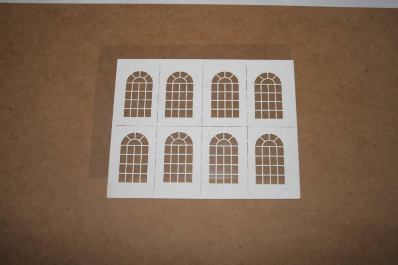 O Gauge Warehouse Windows 55mm x 32mm