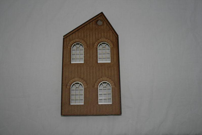 O Gauge Low Relief Warehouse End