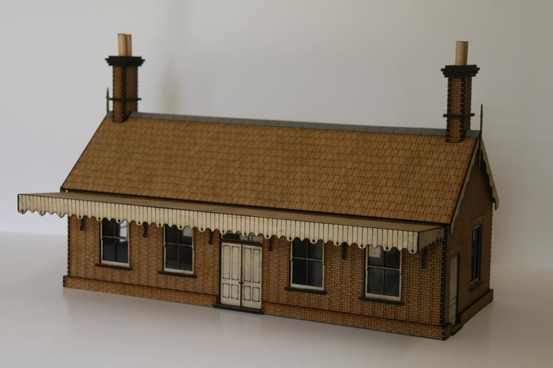 OO GAUGE SMALL STATION