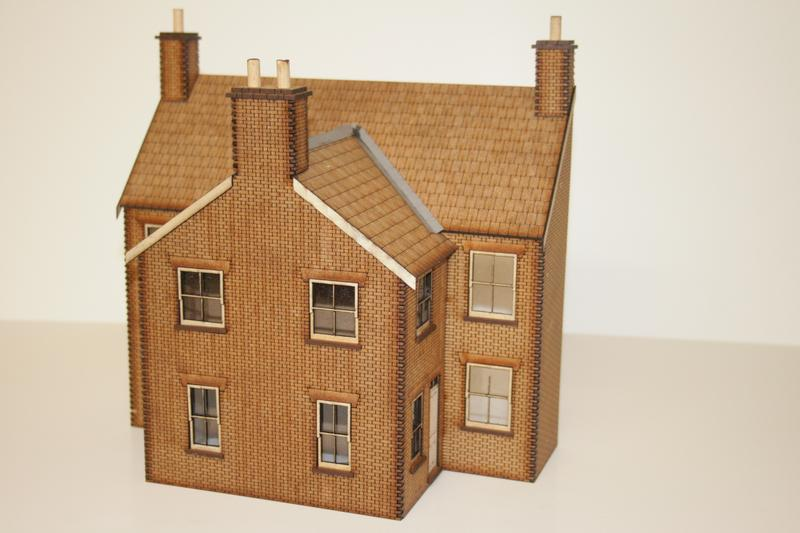 O GAUGE Fine Scale  Low Relief House Back