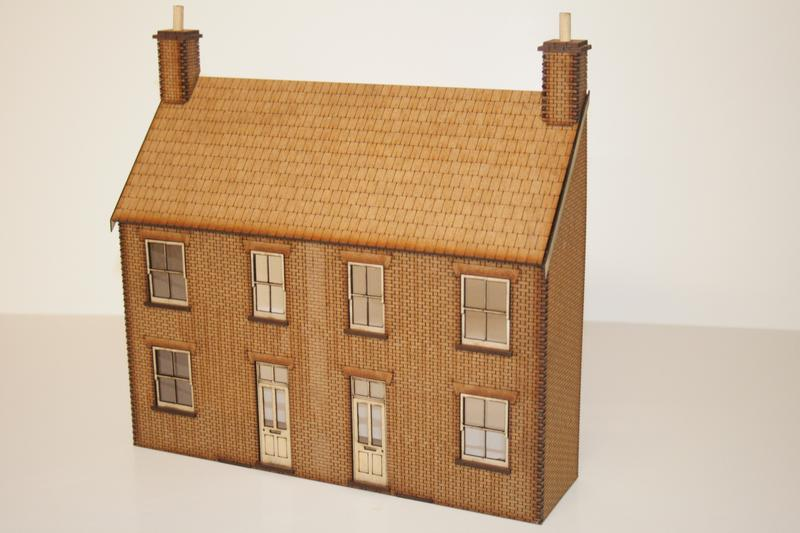 O GAUGE fine  Low Relief House Front