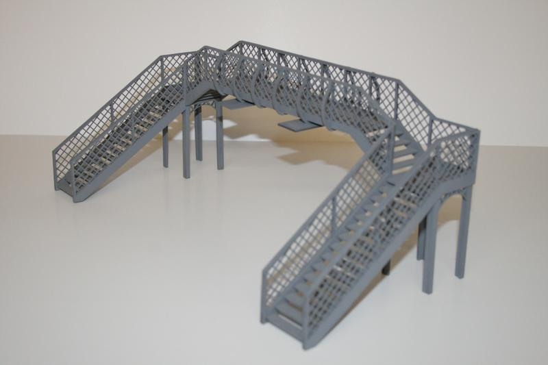 O GAUGE FOOT BRIDGE KIT