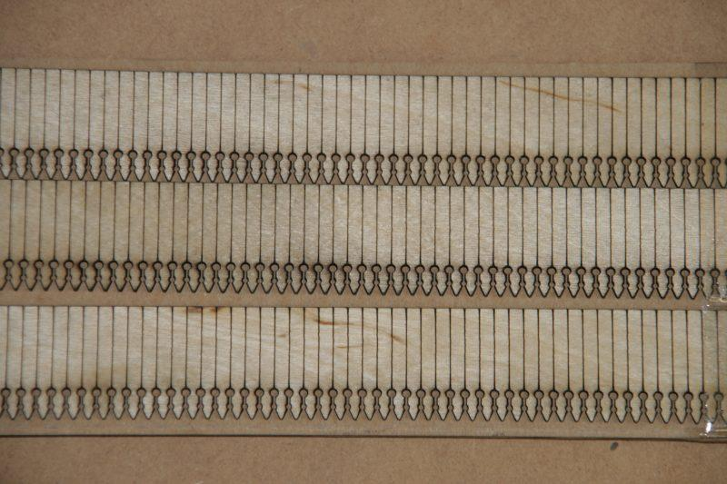 O Gauge Midland Station Valances 3NO
