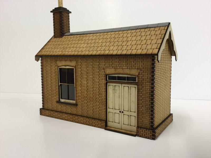 O Gauge Small Ticket Office