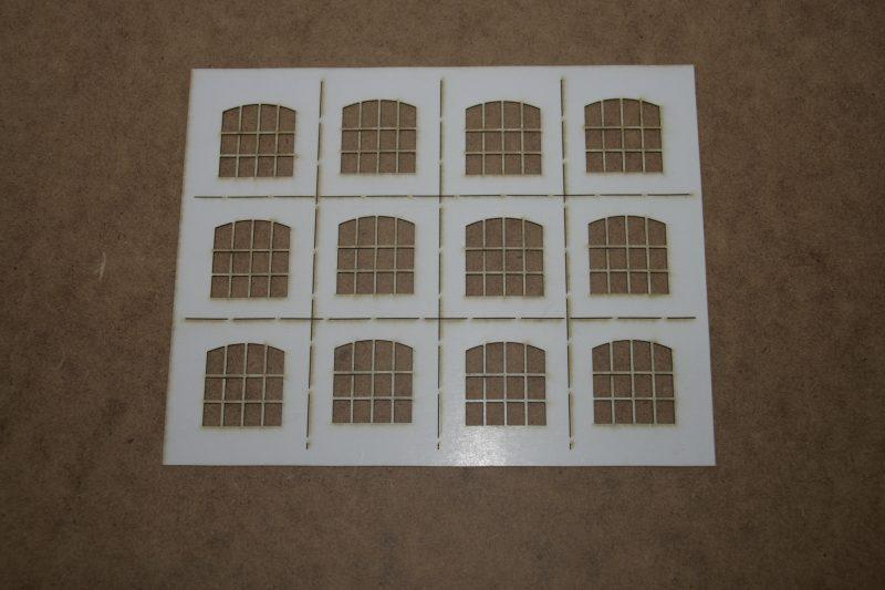 O Gauge Warehouse Windows 34mm x 32mm