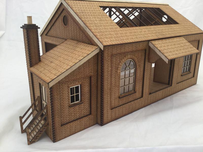 Fine Scale O Gauge Goods Shed