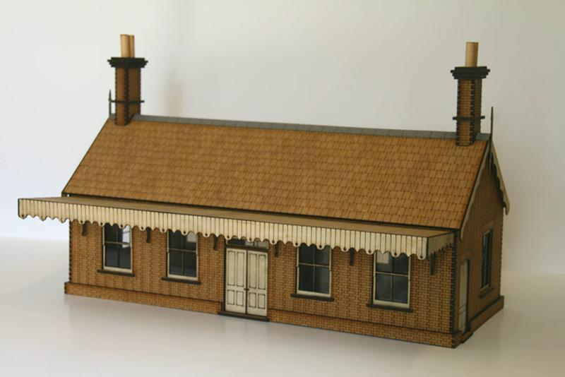 O Gauge Station (Small Size)
